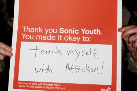 Sonic Youth poster contribution 5