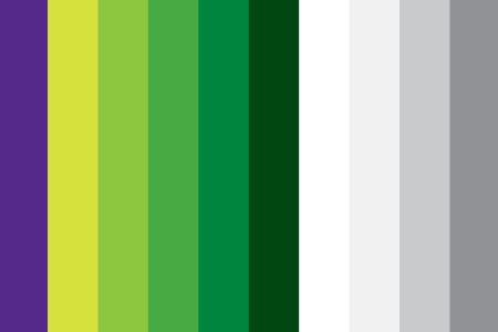 Kinect color palette