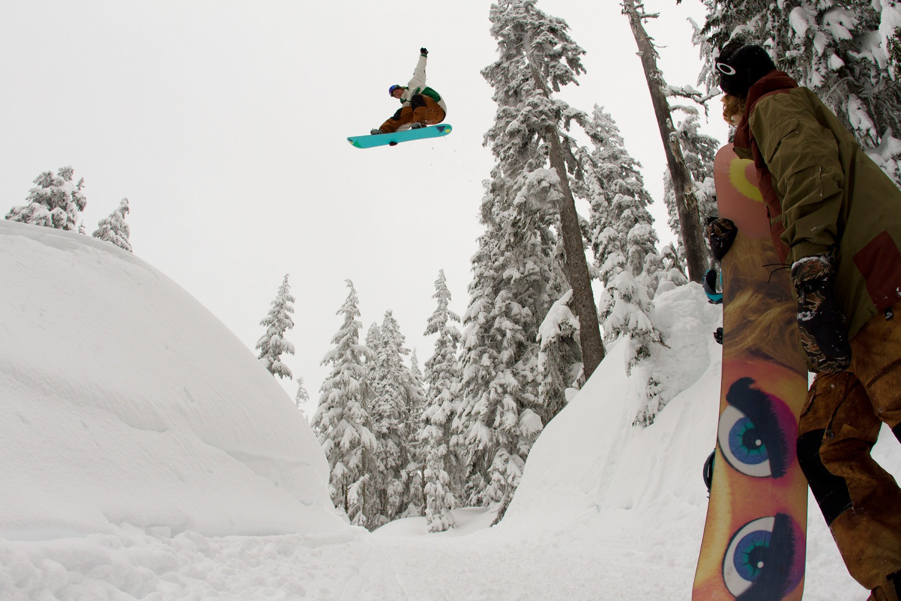 Rider:Mikey Rencz. Photo Credit: Dean Blotto Gray. Courtesy of Burton.