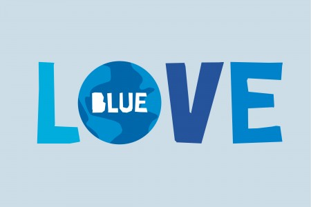 Love Blue - 1% for the Planet