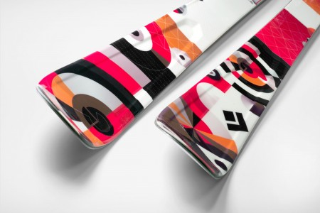 Black Diamond Ember Ski graphics
