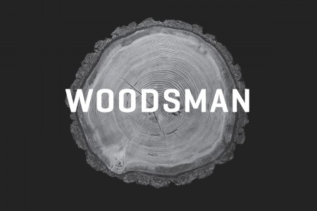 Woolrich Woodsman graphic