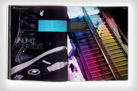 Burton EST Unlimit print campaign