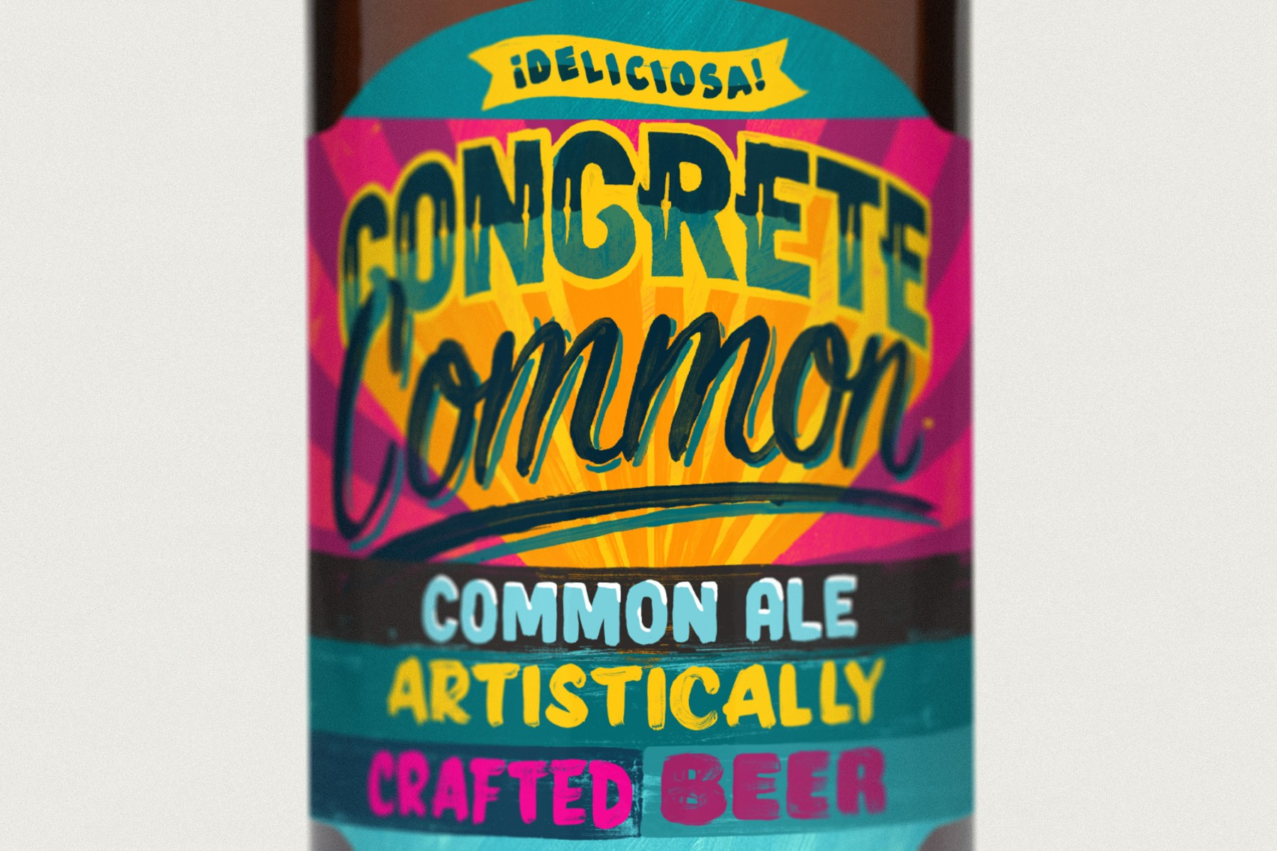 Concrete Common Ale detail