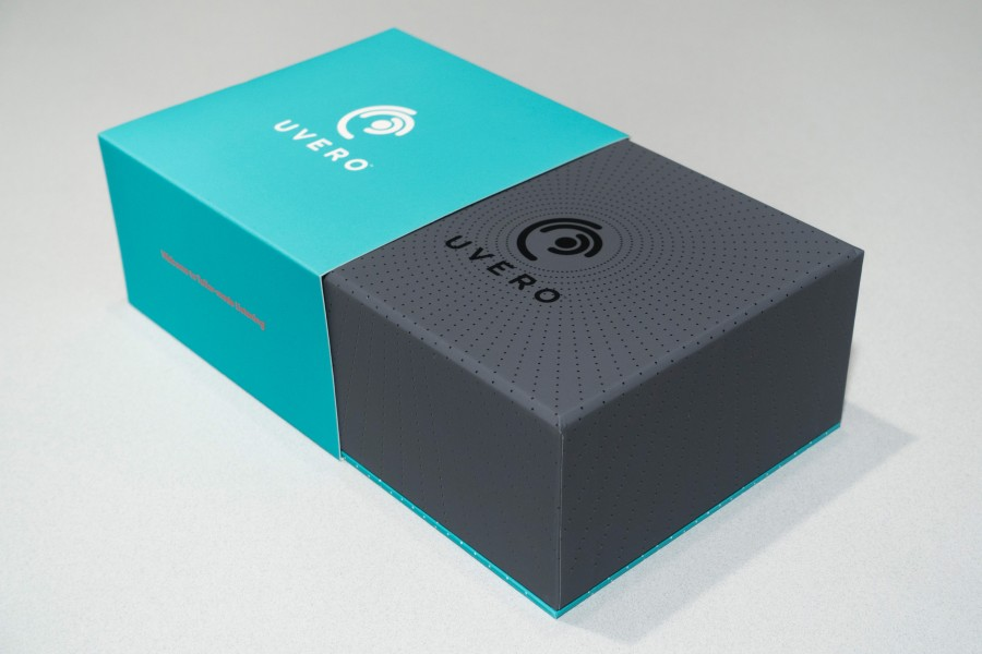 Uvero print and packaging