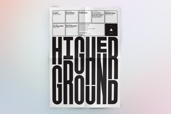 Higher Ground Rebrand