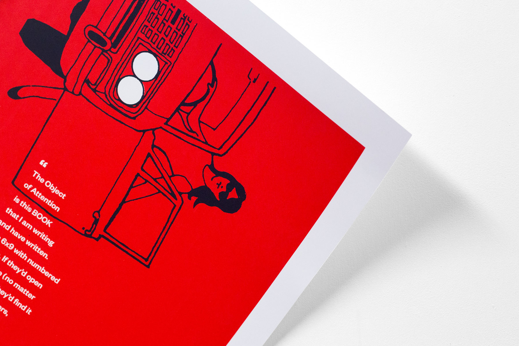 Limited edition screen printed poster